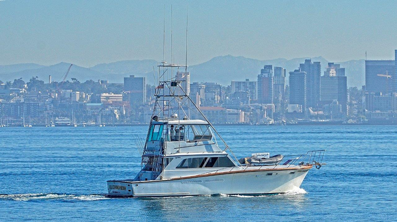 6-pack fishing charters San Diego on Reel Champion Sportfishing