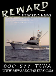 Reward 6 Pack Charters - Specializing in overnight to multi-day tuna trips and more.