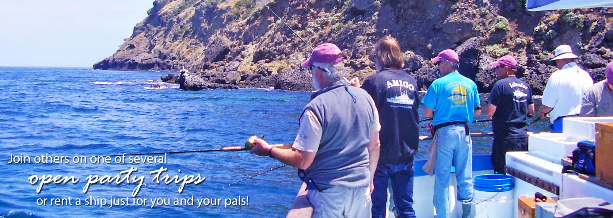 Sportfishing san diego socal open party spot booking for San diego deep sea fishing charter
