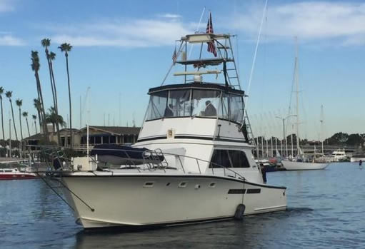 San Diego's newest half day to multi day 6-pack fishing charter Black Diamond