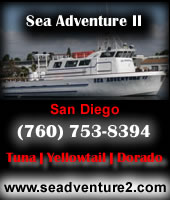 Southern california and san diego 1 2 day and 3 4 day for Deep sea fishing san diego california