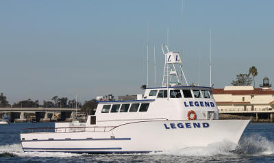 Sportfishing San Diego Legend Deep Sea Fishing San Diego