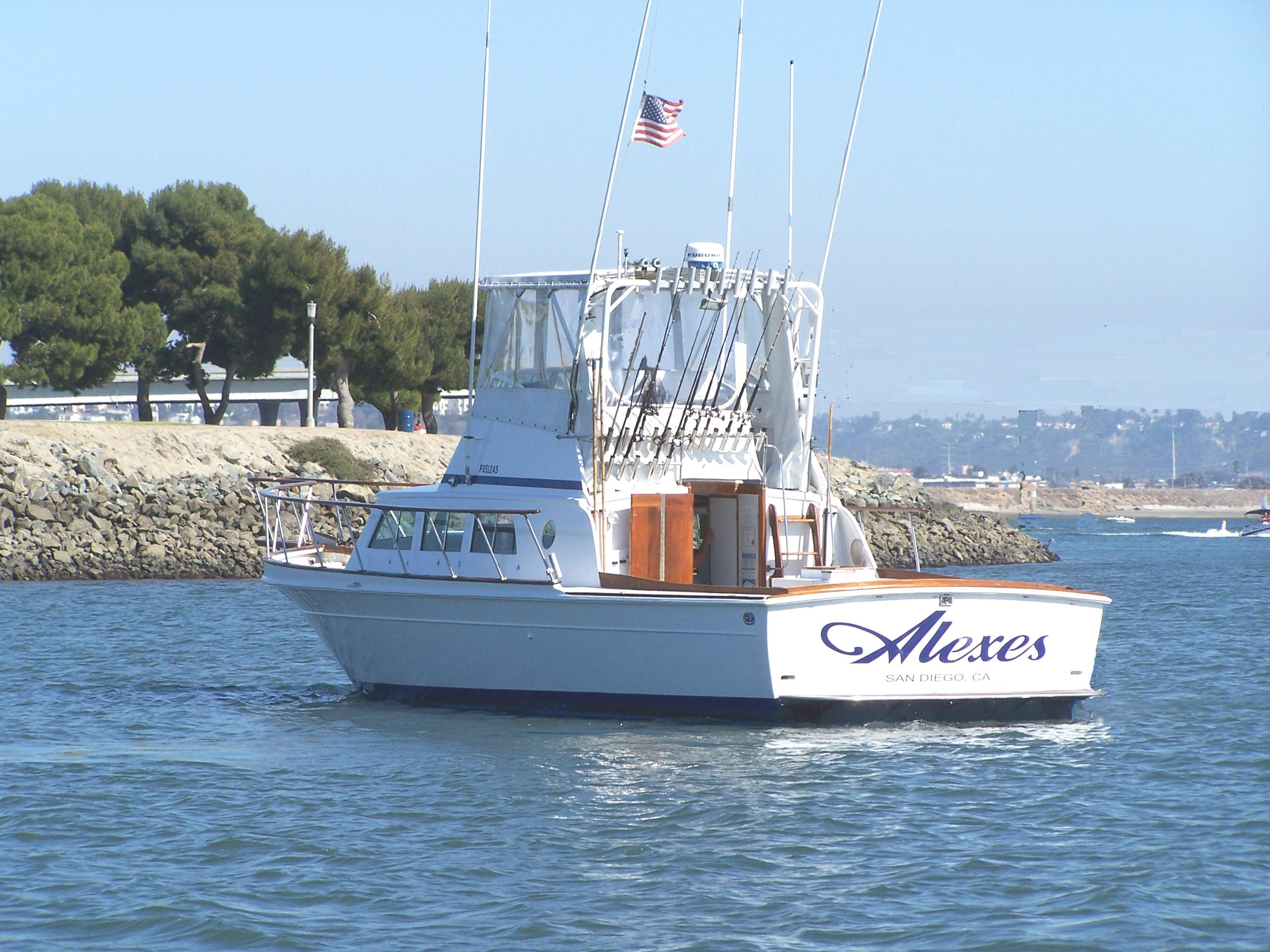 Alexes Sportfishing 6-pack San Diego at Seaforth Landing