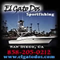 El Gato Dos Sportfishing - San Diego six pack fishing boat