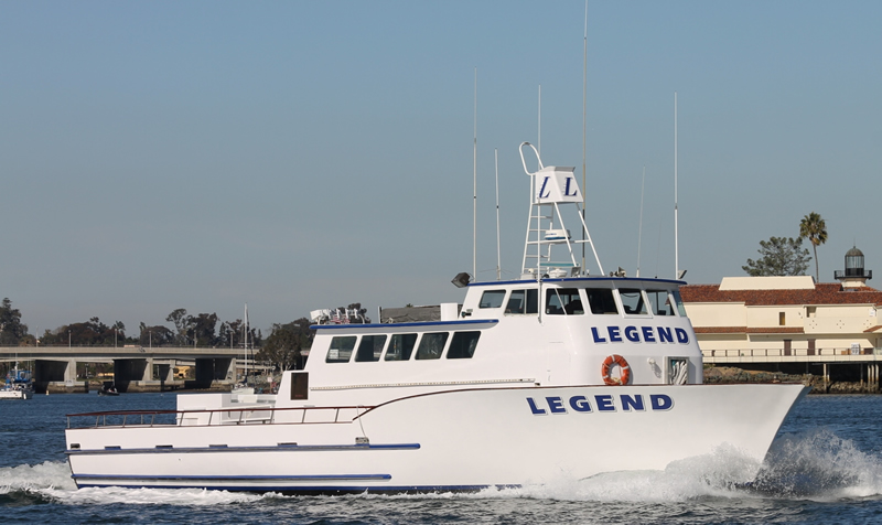 Sportfishing san diego h m landing open party private for Fishing trips in california