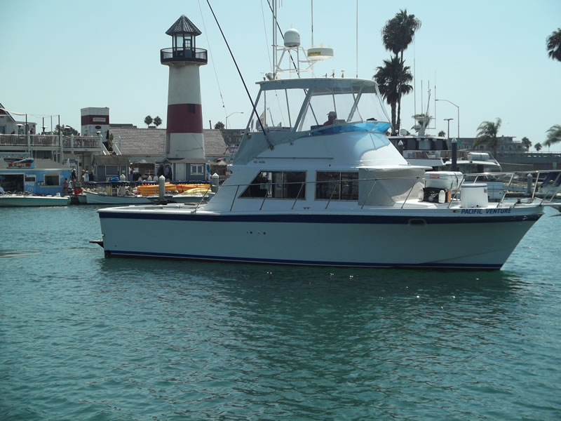 Fishing charter 6-pack Oceanside, California