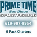 Fishing charters San Diego Prime Time