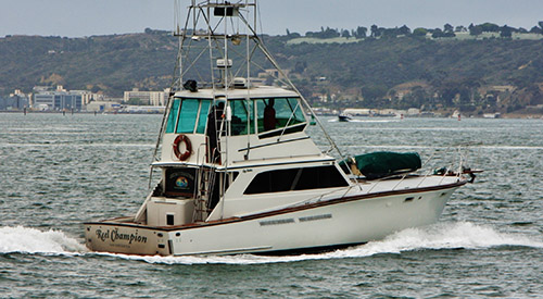 6 pack fishing charters san diego southern california for Southern california fishing charters