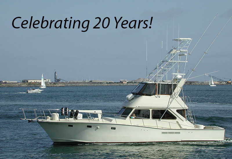 fishing charters san diego california sportfishing six